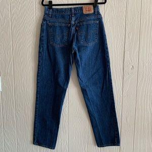 Levi's Vintage 550 High Waist Jeans